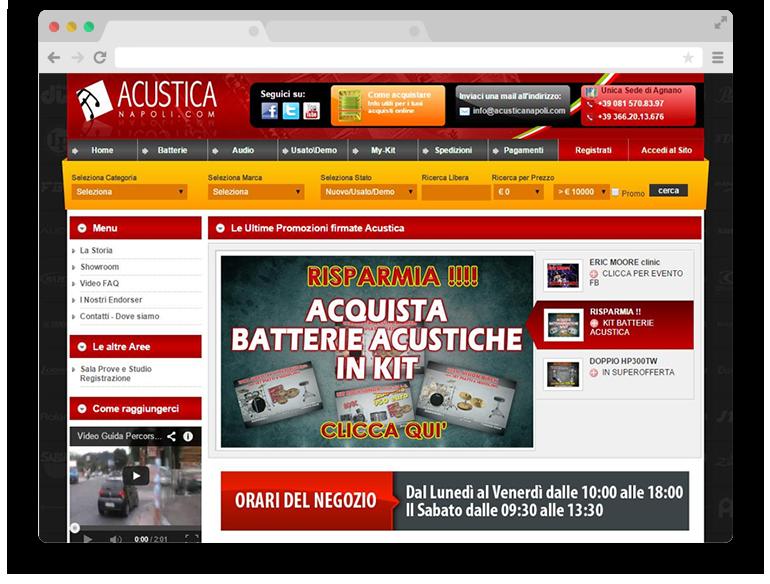 AcusticaNapoli.com