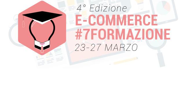 La Settimana Della Formazione E-commerce: il programma