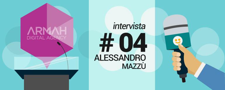Alessandro Mazzù Interviste Armah