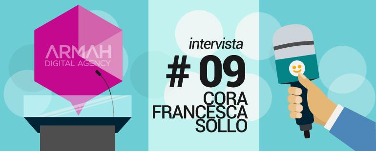 Oggi intervistiamo una vera addicted dei social media, Cora Francesca Sollo