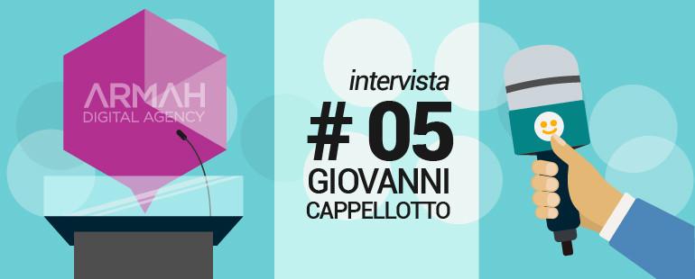 Intervista #5: Giovanni Cappellotto